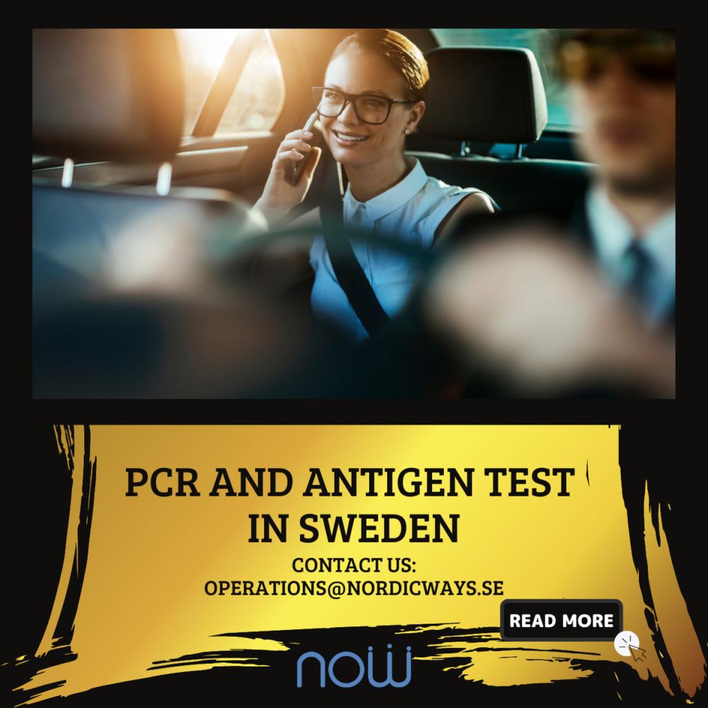 PCR and Antigen test in Sweden